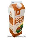 carton 946ml triangulaire à 3 couches pour le jus/lait/crème/vin/eau/yaourt