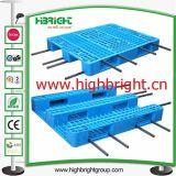 Reforzado Heavy Duty Pallet Euro HDPE con tubos de acero