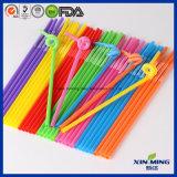Cannucce artistiche di plastica di colore del Rainbow del rifornimento del partito