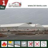 Semipermanentes Lager-Zelt mit Sandwichwänden