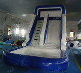Fabricante Direct Sell Inflatable Water Slide com Pool