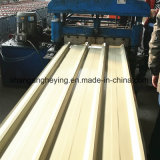 O soldado galvanizado corruga a telhadura do metal do zinco