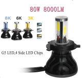 Hallo und Lo Träger-Selbstscheinwerfer 80W 8000lm H1 H3 880 881 H7 LED Scheinwerfer für Auto
