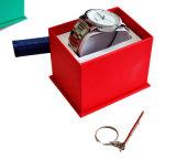 Relógio Box Made de Cardboard e de Leather Best Cost Performance Ys97