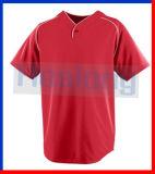 싼 공백 야구 Jerseys v 목을 인쇄하는 Healong 디지털 직물