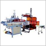 Máquina plástica automática de Thermoforming e de empilhamento (HY-510580)