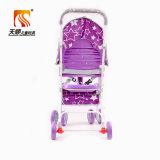 Прогулочная коляска младенца самого лучшего качества пластичная с шарнирным соединением катит оптом
