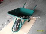 Gute Qualitätspuder-überzogenes Tellersegment-pneumatische Rad-Schubkarre (Wb6400)