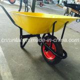 Wheelbarrow da ferramenta de jardim e resistente