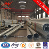 10m 5kn Steel Galvanized Electric Pole für Ghana Distribution Line