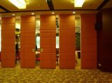 Стены перегородки изготовления Китая алюминиевые подвижные для живущий комнаты