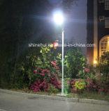 80W LEDはセリウムRoHSが付いている1つの太陽街灯のすべてを統合した