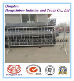 Barrière de clôture provisoire portative de sécurité routière de barricade
