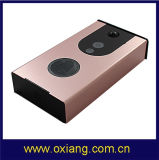 カメラが付いている新しい到着のWiFiのビデオドアベルの銀の無線スマートなドアベル