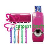 Tocarme dispensador de la crema dental/sostenedor automáticos del cepillo de dientes de la crema dental