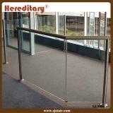 Ce аттестовал замороженный Railing нержавеющей стали стеклянный для балкона (SJ-H009)