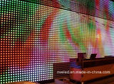 Visualizzazione di LED esterna di colore completo della maglia della tenda di P10 LED video