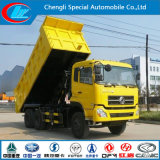 Tipping resistente Truck, Powerful Side Tipper Dongfeng Tipper Truck, 6X4 Dumper