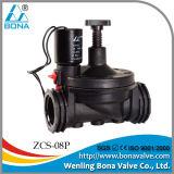 """Bona Zcs-08p 3/4 """"1"""" Guide de pilotage de la vanne solénoïde d'irrigation Commande de débit et réglage manuel Vannes à solénoïde en nylon"""