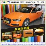 materiaal van de Omslag van de Auto van de Sticker van de Kleur van de Luchtbel van 1.52*50m Het Vrije Glanzende Vinyl voor Decoratie