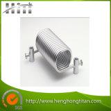 ASTM B338 Grade1の熱交換器のためのチタニウムのコイルの管