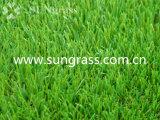 erba artificiale del vero giardino di paesaggio di 40mm (SUNQ-HY00160)