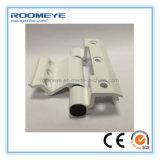 Preço competitivo PVC duplo casement janelas com churrasqueira design