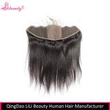 7A Grade Cheveux Vierges Malaisiens avec fermeture à base de soie 13X4