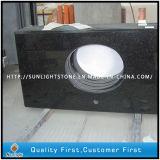 Plat/stratifié/vanité en pierre noire Bullnose de granit/marbre/quartz de /White/Green/Blue/dessus de Tableau contre- pour la cuisine ou la salle de bains