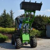 Chargeur compact mobile de roue des machines de terre Zl08 mini avec le prix