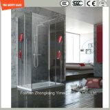 Alto vidrio de la ducha de la impresión de investigación de Temeprature de cuatro colores