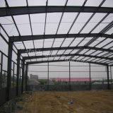 Disegno della disposizione del gruppo di lavoro della struttura d'acciaio con basso costo