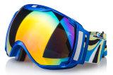 Óculos de sol UV da snowboarding do equipamento do esqui da proteção do tamanho grande