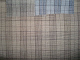 Stof van de Controle van de Lijn van het Kostuum van Polyeter van de wol de Dubbele