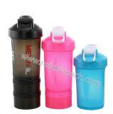 Botella de plástico inteligente agitador de la proteína