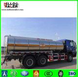 Sino 트럭 HOWO 6*4 10는 판매를 위한 트럭 20000 리터 수용량 연료 탱크 선회한다