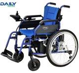 24 кресло-коляскы электричества дюйма складывая с алюминиевой рамкой Dp603