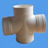 Drenaje del PVC que reduce la cruz con el estándar de Asnzs