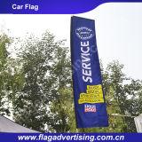 공장 도매 주문 로고에 의하여 인쇄되는 바람 깃발, 깃발을 광고하는 바닷가 깃발