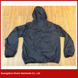 Rivestimento di qualità del ricamo su ordinazione della fabbrica di Guangzhou migliore per usura di sport esterni (J161)