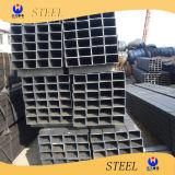 Tubo de acero rectangular galvanizado sumergido caliente