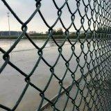 Rete fissa rivestita di collegamento Chain del PVC per la barriera dei campi di sport
