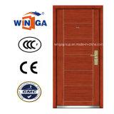 Ceeurop Market Security Steel MDF placage en bois porte blindée (W-A1)