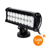 luz da barra do diodo emissor de luz do CREE 54W para o trator Offroad da carrinha pickup