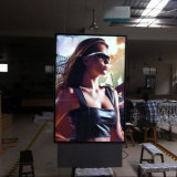 Anunciando a caixa ao ar livre do luminoso do diodo emissor de luz de Scroller do frame do poster