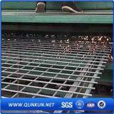 Maille soudée de fil d'acier avec la galvanisation