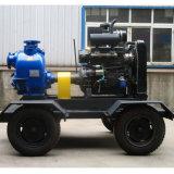 Bomba accionada por el motor diesel de la basura del oscurecimiento del uno mismo (ZWDS)