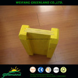 Feixes de madeira de pinho H20 para construção