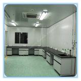 Banc de laboratoire en bois de microbiologie de trame en acier