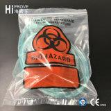 Bolso del transporte del espécimen de Biohazard de la marca de fábrica de Ht-0727 Hiprove